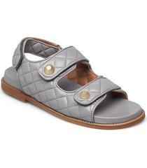 sandals 2757 shoes summer shoes flat sandals grå billi bi
