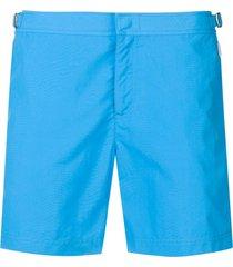 orlebar brown straight-leg swim shorts - azul