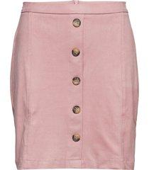 skirts knitted knälång kjol rosa esprit casual