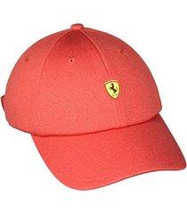 gorra  roja puma sf fanwear