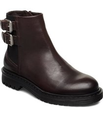 least w shoes boots ankle boots ankle boots flat heel brun sneaky steve