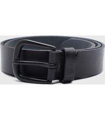cinturón all day leather negro billabong