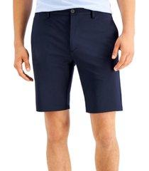 "hugo men's slim-fit chino infinity 10"" shorts"