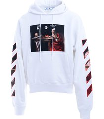 off-white off-white cotton sweatshirt
