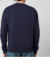 ami men's de coeur sweatshirt - navy - l