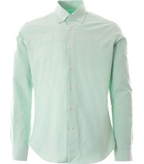 oxford shirt - natural mint notaral-mnt