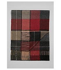 jos. a. bank large plaid cashmere scarf
