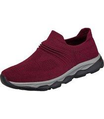 scarpe da passeggio per donna all'aperto da passeggio in maglia leggera traspirante antiscivolo