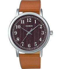 reloj analógico mujer casio ltp-e145l5b1 - café con marrón