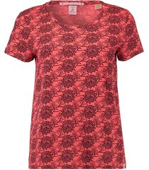 t-shirt boxy koraal