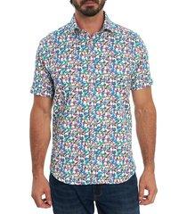 robert graham men's jam out short-sleeve sport shirt - size xxl