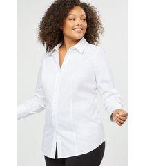 lane bryant women's girlfriend shirt 24 white
