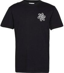 beat arms t-shirts short-sleeved svart libertine-libertine
