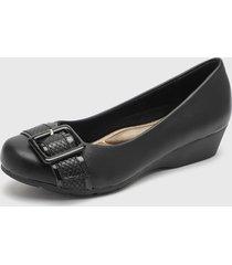 zapato negro chalada