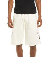 men's kappa men's authentic falmouth shorts, size small - white