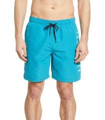 men's ted baker london slim fit logo swim trunks