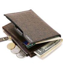 billetera monedero hombre - color dorado