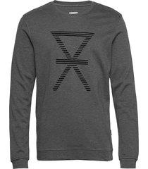 jbs of denmark shirt bamboo sweat-shirt tröja grå jbs of denmark