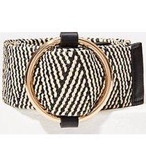 loft plus straw waist belt