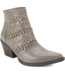 seven dials quinn western women's bootie women's shoes