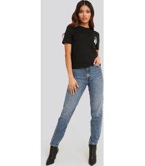 calvin klein mom jeans - blue