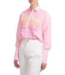 camicia donna maniche lunghe blusa goodfy