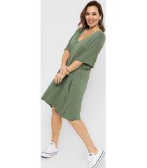 vestido verde vindaloo redondo y v