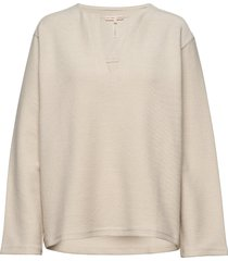 reversed split sweatshirt sweat-shirt trui filippa k soft sport
