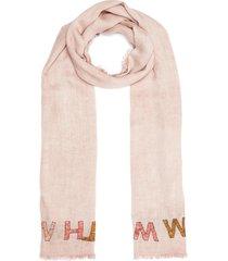 'sognare' silk-wool blend scarf