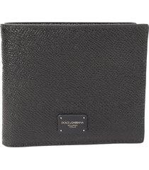 dolce & gabbana black wallet