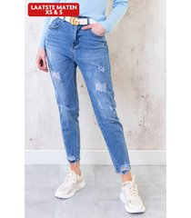 high waisted jeans relax fit