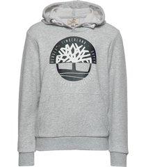 hooded sweatshirt hoodie grå timberland
