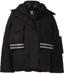 canada goose reflective detail jacket - black