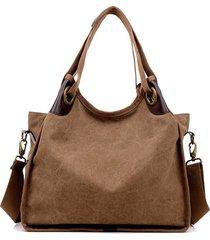 borse a tracolla di viaggio di acquisto della borsa casuale della tela di grande capienza delle donne