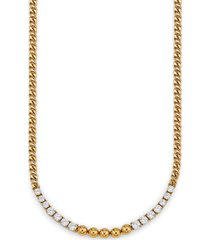 nadri frontal chain link necklace in gold at nordstrom