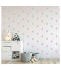 adesivo decorativo de parede - kit com 190 gotas - 007kaa14