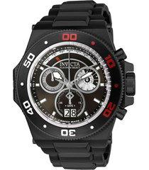 reloj akula invicta modelo 26049 negro