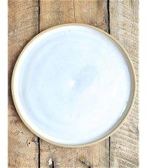 ceramiczny talerz półmisek pure white