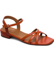 sandals 4025 shoes summer shoes flat sandals orange billi bi