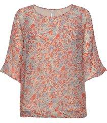 sc-gabriele blouses short-sleeved rosa soyaconcept