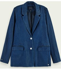 scotch & soda tencel™ denim blazer
