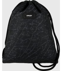 tula negro-gris oakley street satchel bag