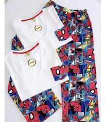 pijama dama / spiderman / pantalón