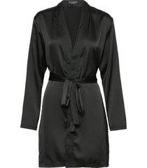amber kimono morgonrock svart ow intimates