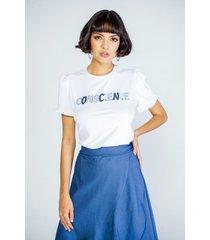 camiseta adrissa blanca tela ecológica