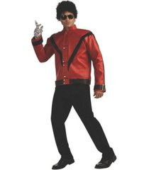 buyseasons men's red thriller deluxe michael jackson jacket
