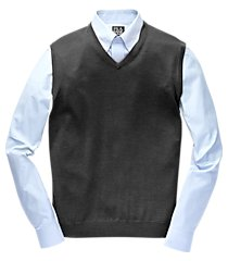 traveler collection merino wool men's sweater vest