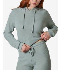 ultra flirt juniors' ribbed hoodie
