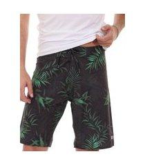 bermuda calvin klein swimwear masculina d'água greenery verde escuro