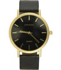 reloj negro amphora w077